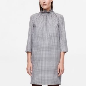 COS Houndstooth dress - size 8